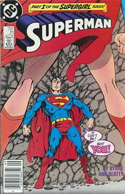Superman volume 2 issue 21 - Sep 1988 - Written by John Byrne - Penciled by John Byrne - DC Comics