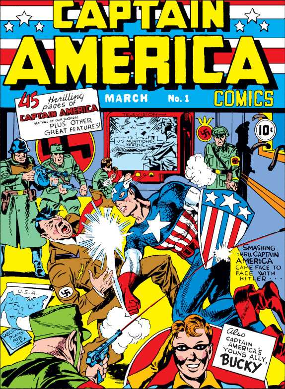 CAPTAIN AMERICA PUNCHED A NAZI