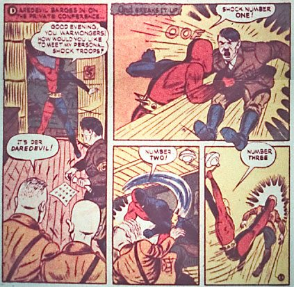 DAREDEVIL PUNCHED A NAZI