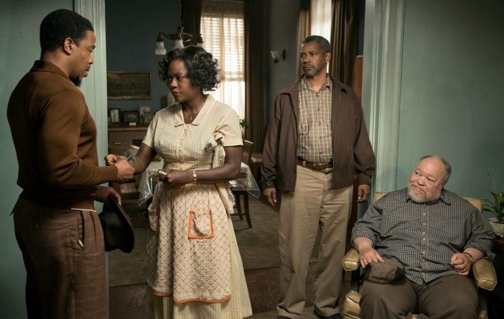 Fences, Violan Davis, Denzel Washington
