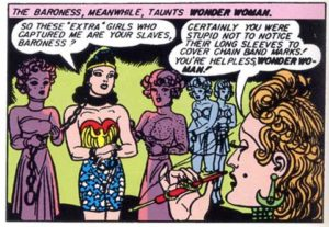 Power fantasy: Wonder Woman and some girl-slaves