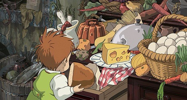 Studio Ghibli, Howl's Moving Castle, food