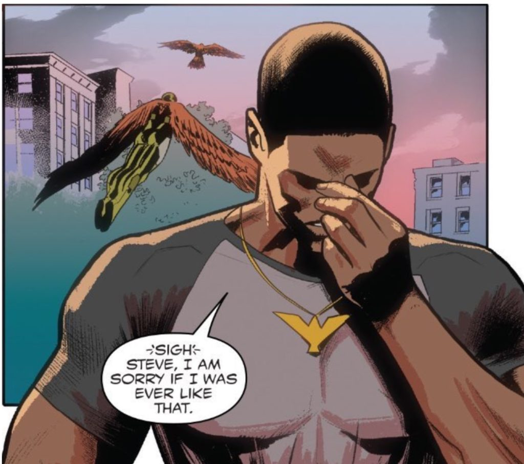 Captain America #17, marvel comics, January 2017, written by Nick Spencer