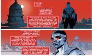 Captain America:Sam Wilson #1, marvel comics, written by nick spencer