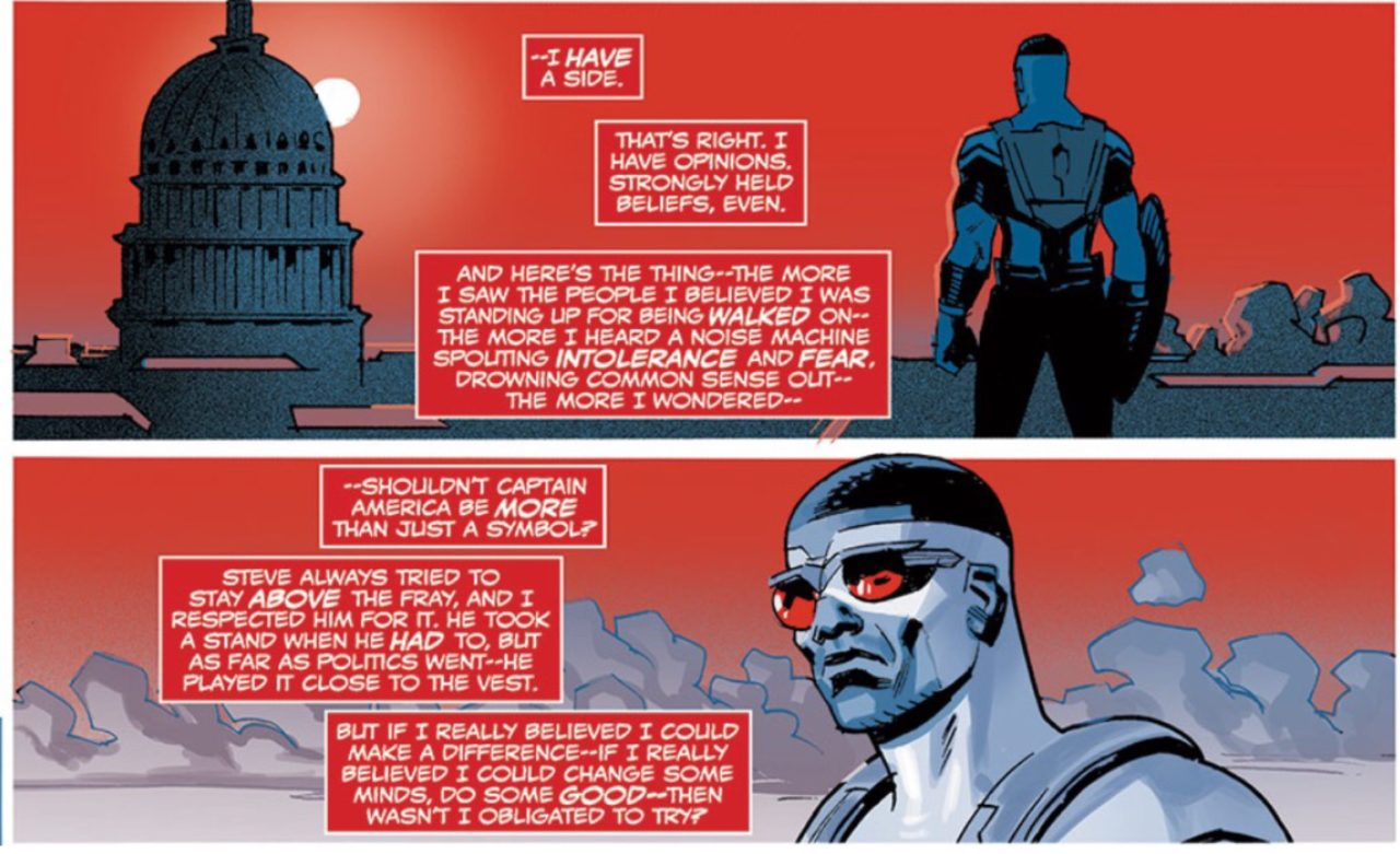 Political Comics: Captain America Was Never Neutral