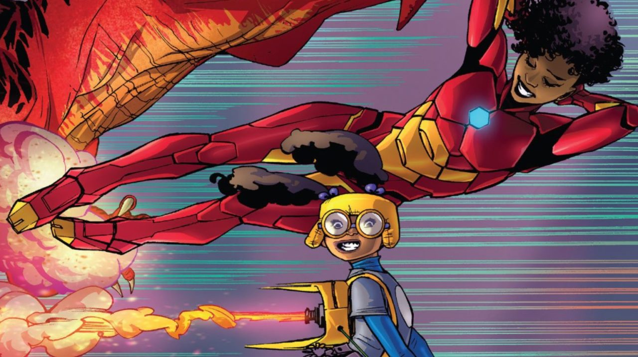 """To Be Or Not To Be """"Respectable"""": Moon Girl and Devil Dinosaur"""