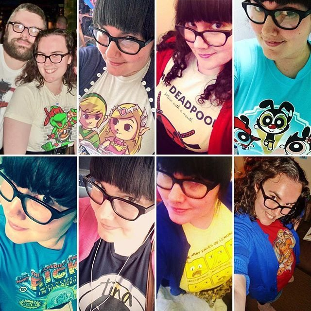 Comic Looks: Stacey's Nerdy T-Shirts