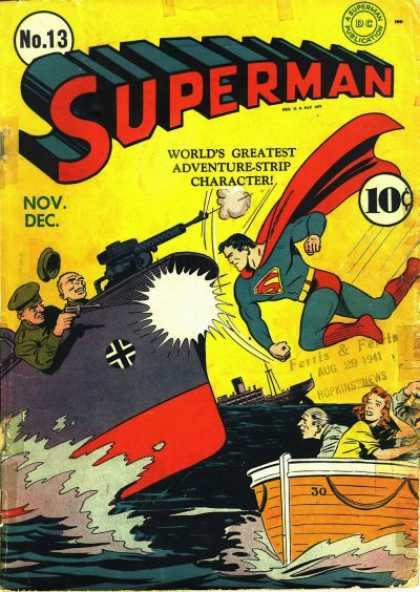 SUPERMAN PUNCHED A NAZI