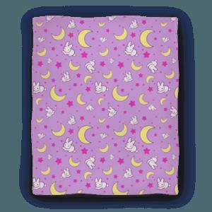 Sailor Moon Bunny Blanket - LookHuman