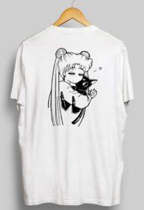 Sailor Moon Lounge Shirt - Animute on Etsy