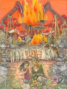 Next World Tarot, Cristy C. Road, PEN Illustrated, January 2017