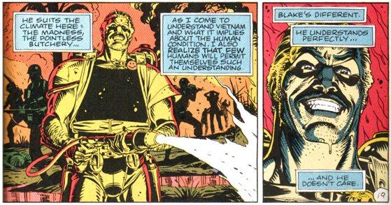 The Comedian, Watchmen