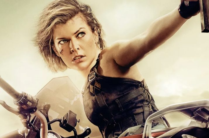 Milla Jovovich as Alice in Resident Evil: The Final Chapter [Sony Pictures/Screen Gems]