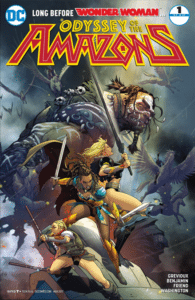 Odyssey of the Amazons 1 cover