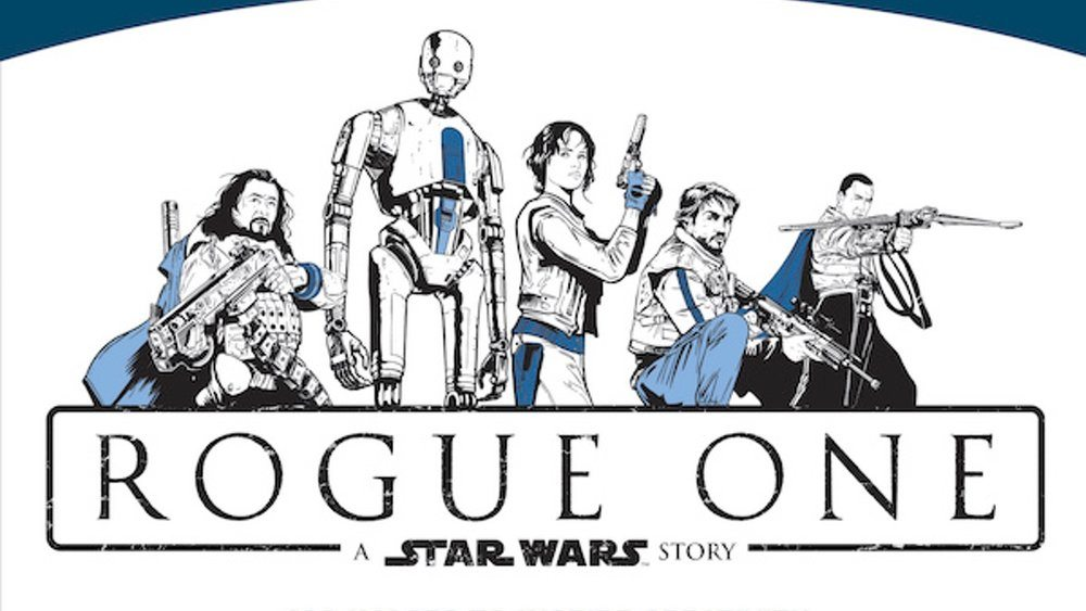 Rogue One: An Unrebellious Colouring Book