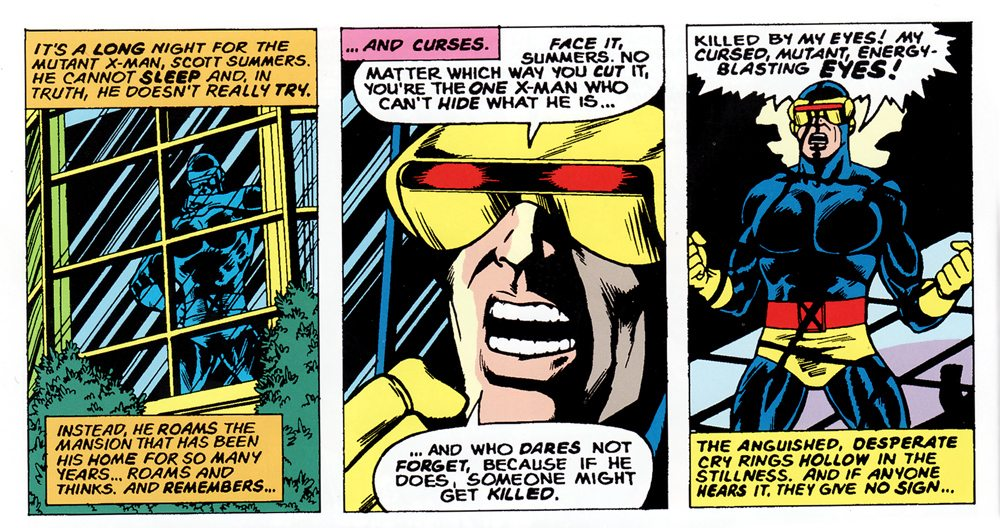 It's Not Heat Vision: Why Scott Summers Always Left Me Cold