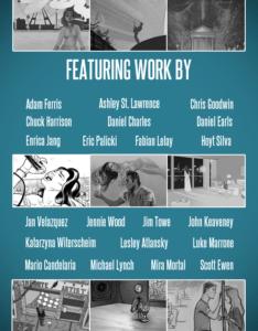 Baroque Pop lana Del Rey-inspired comic illustration anthology creators list