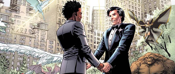 The Wedding Issue: Northstar and Kyle
