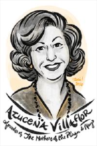 Portrait of Argentinian activist Azucena Villaflor by Rori