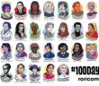 100 Days 100 Women by roricomics.tumblr.com
