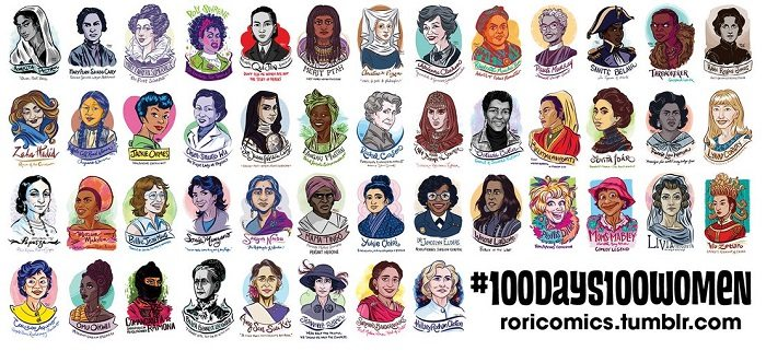 100 Days 100 Women: A Feminist Portrait Series