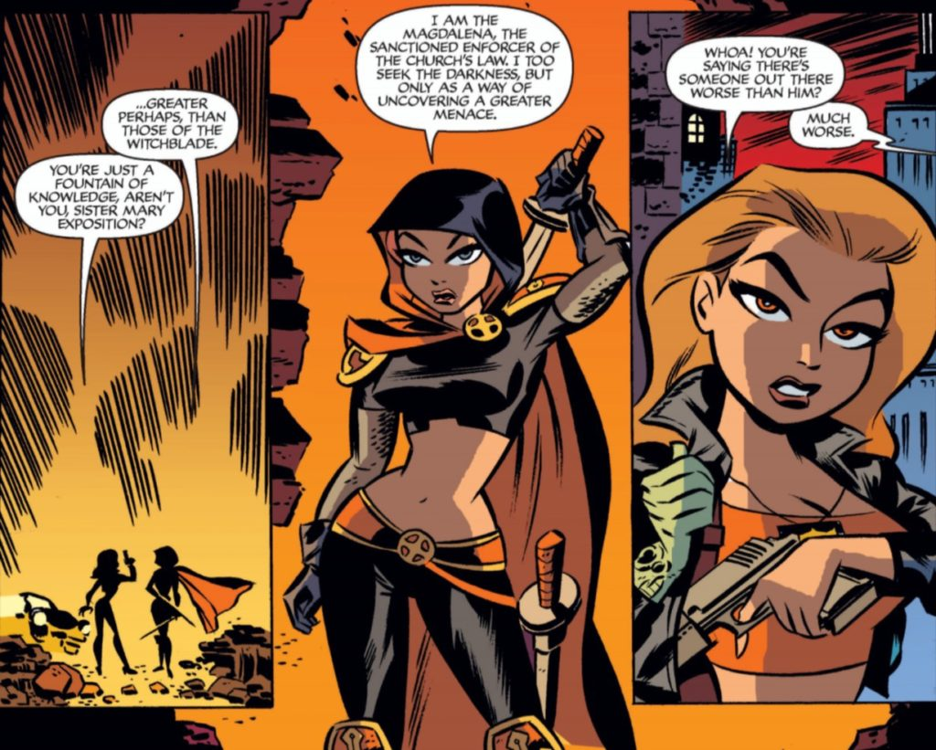 Witchblade Animated, Top Cow, Dini & Cooke