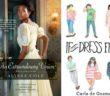 Covers of Trade Me, An Extraordinary Union, If the Dress Fits, and A Bollywood Affair as seen in the body of the post 11 Romance Authors of Color You Should Be Reading