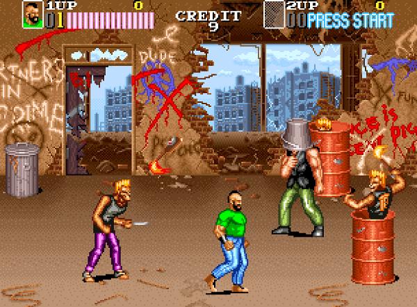 Vendetta/ Crime Fighters 2, arcade, Konami, 1991