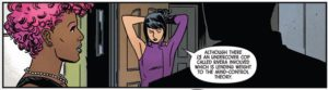 Kate Bishop puts up her hair,Hawkeye #3, marvel comics