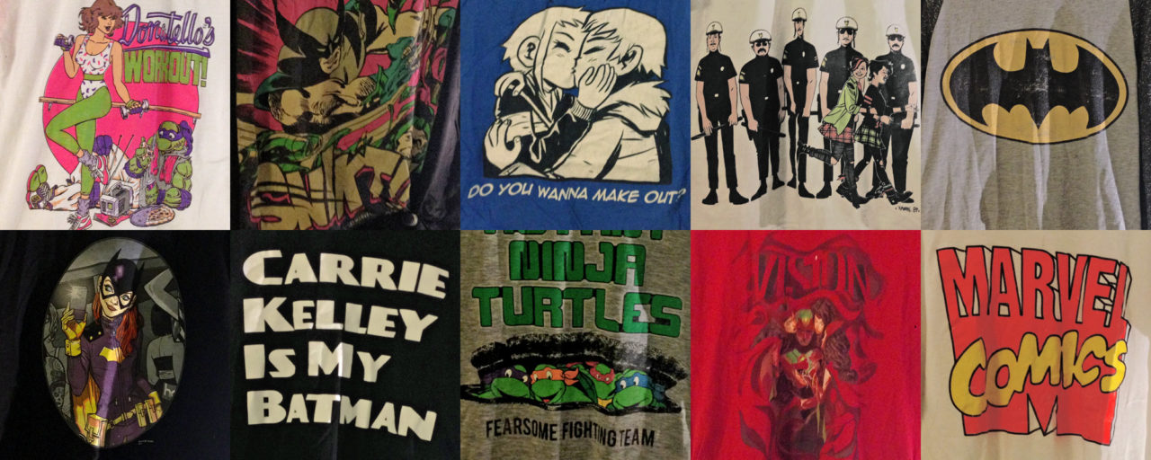 Too Many T-Shirts: My Life in Comic Book Merch