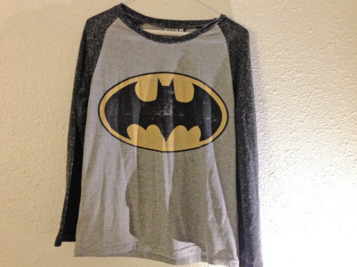 top ten t-shirts Batman logo t-shirt