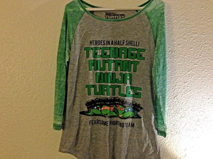 top ten t-shirts Ninja turtles t-shirt, mirage studios