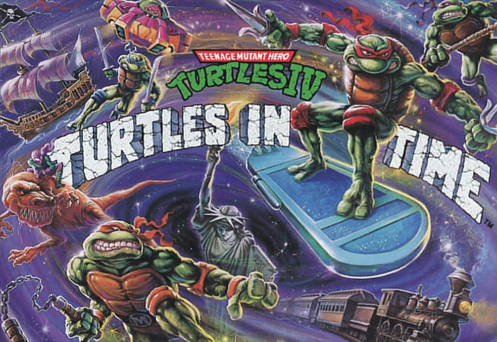 Turtles in Time, 1992, Konami, SNES