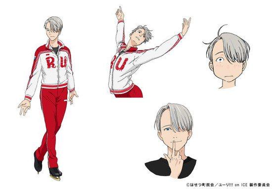 Yuri!!! On Ice artwork/character sketch, MAPPA