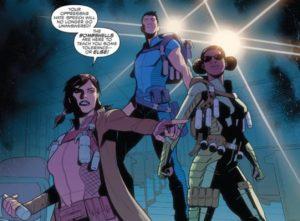 The Bombshells in Captain America: Sam Wilson #17, Marvel Comics, 2017, Spencer, Renaud, Rauch, Caramanga