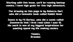 Brandon Graham's Zoonverse intro from Prophet #2