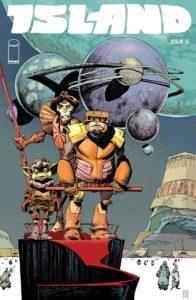 Island cover, Fil Barlow, Image Comics, 2015