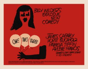 One Two Three Billy Wilder Movie Poster