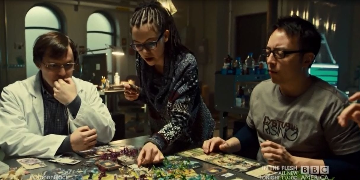 orphan black board game