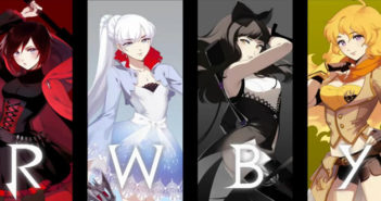RWBY Volume 1 official art by Rooster Teeth.