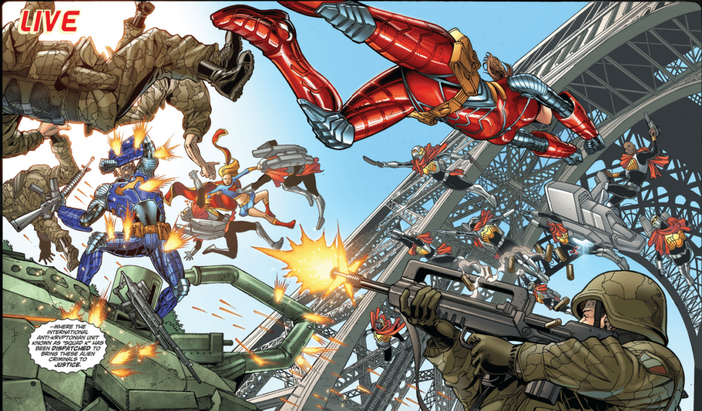 Jamal Igle - Jon Sibal - DC Comics - 2009 - Supergirl 45