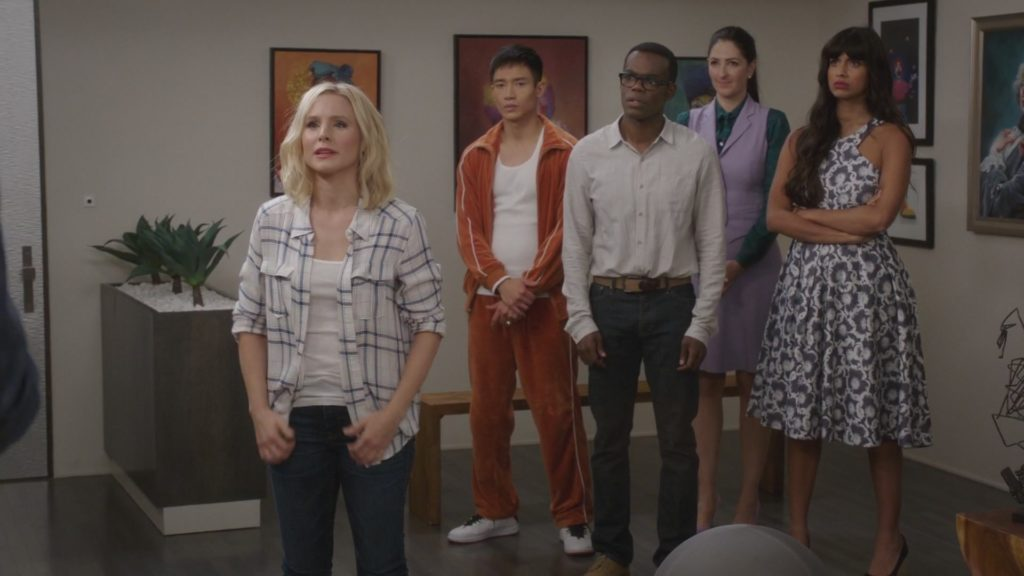 The Good Place Ensemble Cast NBC 2017