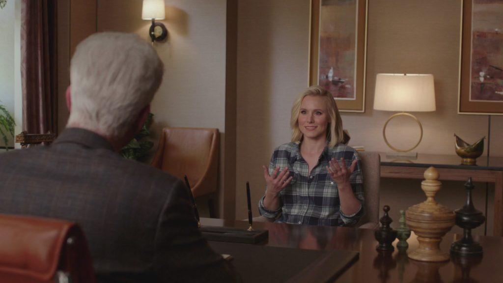 The Good Place Episode 1 Kristen Bell NBC 2017