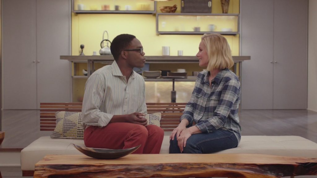 The Good Place Kristen Bell William Jackson Harper NBC 2017
