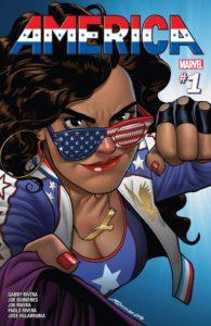 America Chavez cover