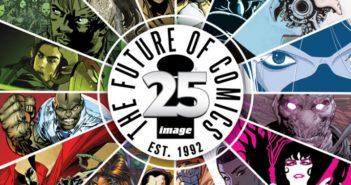 Image comics 25th anniversary banner