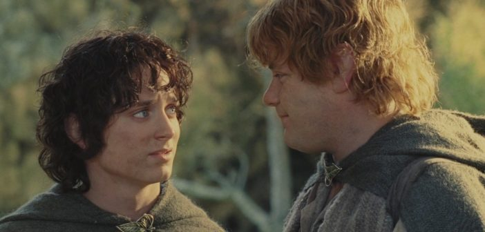 Sam and Frodo, Lord of the Rings, Peter Jackson, New Line Cinema, 2002 (History of Fanfiction)