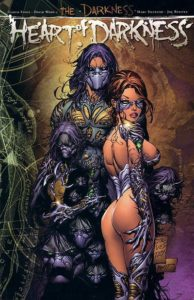 A woman, by Marc Silvestri