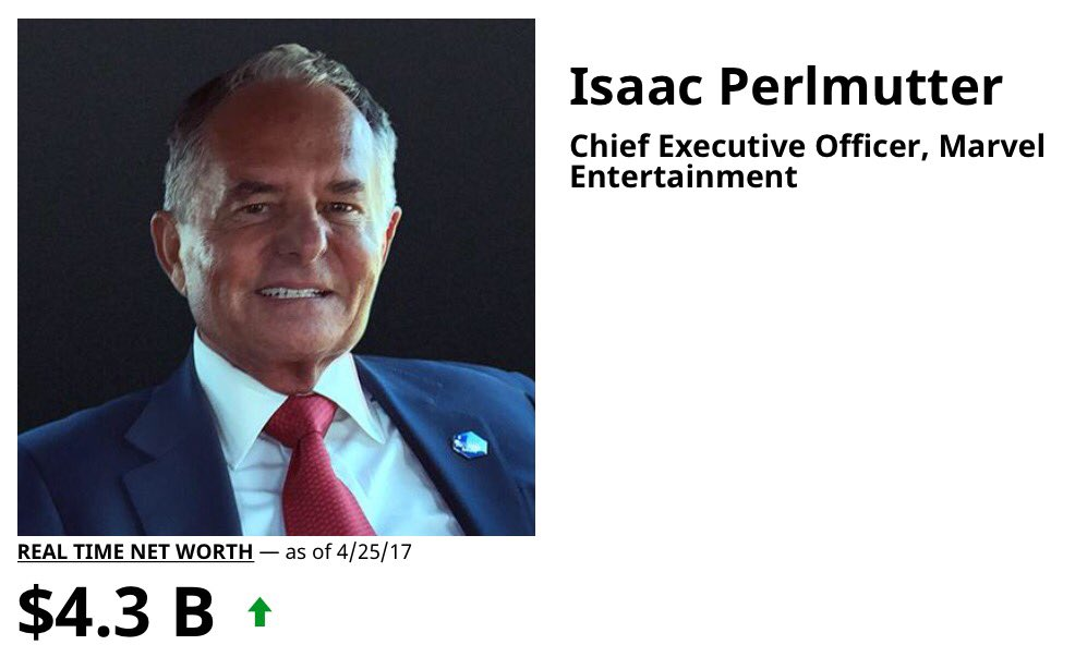 Forbes, I Perlmutter profile