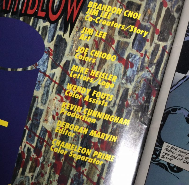 Wendy Fouts: spotted in Deathblow #1